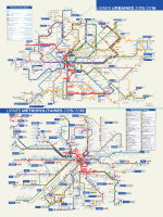 plan des lignes urbaines