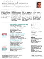 mon CV - Juliette Delaunay