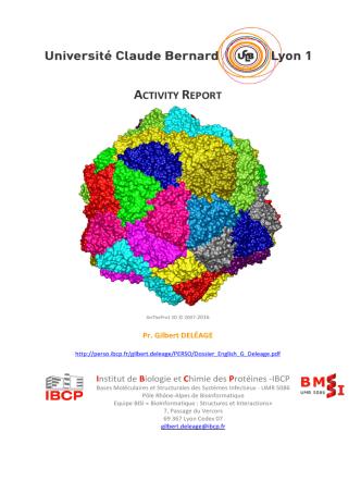 CV (pdf 3Mo) - Institut de Biologie et Chimie des Protéines