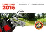 l`édition 2016 - Golf club de Strasbourg