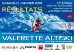 Liste des résultats Valerette Altiski 2014