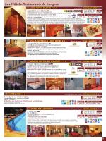 Hôtel et restaurant - Office de tourisme Pays de Langres