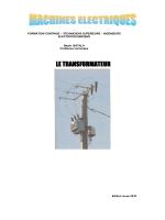 TRANSFORMATEURS STATIQUES