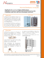 Point de Distribution Immeuble