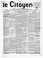 Novembre 1921 - Site en travaux, le week