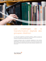Les challenges de la transformation digitale des