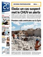 Ebola: un cas suspect met le CHUV en alerte