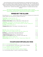 Topolobampo Wine List