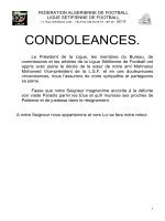 proces verbal n°06-2015 - Ligue Sétifienne de Football