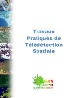 TRAVAUX PRATIQUES de TELEDETECTION SPATIALE