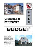 Budget 2015-Comptes et indicateurs financiers