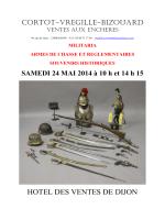 HOTEL DES VENTES DE DIJON