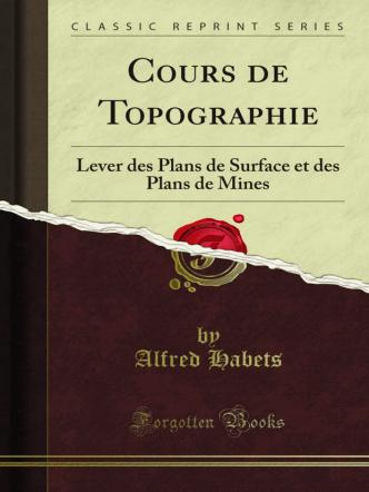 Cours de Topographie: Lever des Plans de