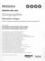 Histoire Geographie