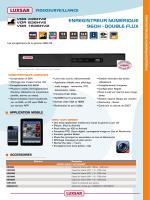 EnrEgistrEur numériquE 960H - DOuBLE FLuX
