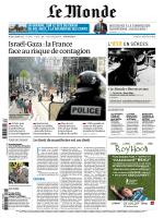 Le Monde du mardi 22 juillet 2014