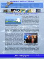 RAPPORTS POUR LE BULLETIN – AVRIL 2014