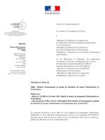 Circulaire rectorale n°2014-131