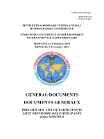 GENERAL DOCUMENTS DOCUMENTS GENERAUX