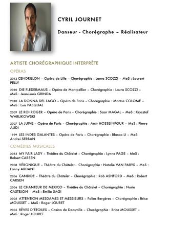 Cyril JOURNET En savoir plus - Académie Internationale de la Danse