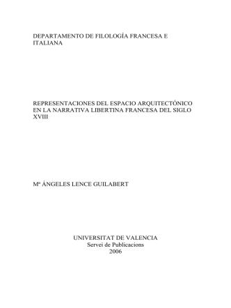 departamento de filología francesa e italiana representaciones del