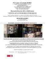 Informations sur la vente (PDF)