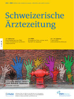 Schweizerische Ärztezeitung 10/2015