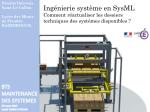 Ingénierie système en SysML