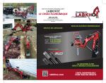 LABKHOE - Mini excavatrice remorquable