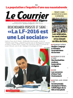 «La LF-2016 est une Loi sociale»