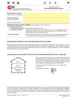Checkliste Wärmebrücken - Energie Zentralschweiz