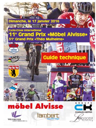 11e Grand Prix ÿMöbel AlvisseŸ Guide technique