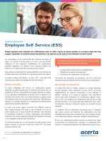 Employee Self Service (ESS)