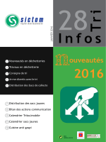 ouveautés - Sictom Région Montluçonnaise