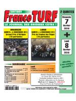Le Prono de FRANCE TURF