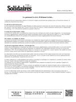 Communiqué loi El Khomri