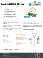 Module Si868-25mW