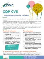 CQP CVS - ifeap