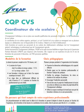 CQP CVS - ifeap