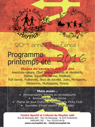 Brochure - CSC Mayfair