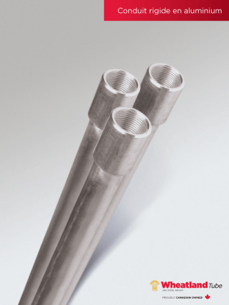 Conduit rigide en aluminium