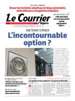 endettement extérieur - Le Courrier d`Algérie