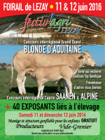 France Blonde d`Aquitaine