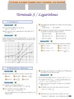 Terminale S / Logarithmes