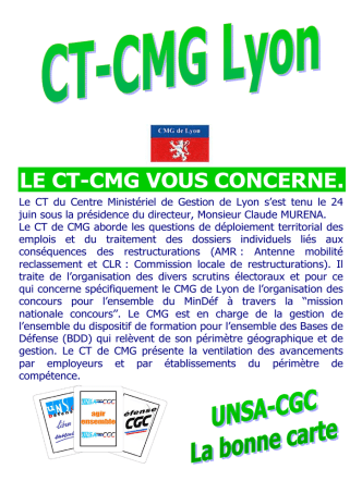 2014.09 - le 3 en 1 - CR CTM + CTR + CT CMG