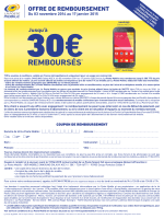 coupon(s) - La Poste Mobile