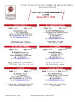 8 Liste correspondants 2014-15