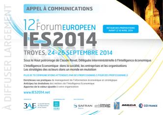 CFP PAGE1.4.ai - Forum Européen IES 2014
