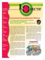 Lancement du programme Alliance - CSSS de Saint