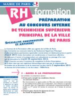 Préparation concours TSP Construction et Bâtiment 2015 PDF
